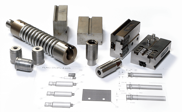 Lomar Tube End Forming Tooling