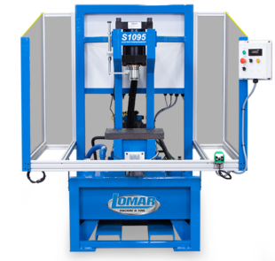 Lomar S1095 Hydraulic C Frame Utility Press With Guarding