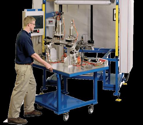 Helium Leak Tester Table