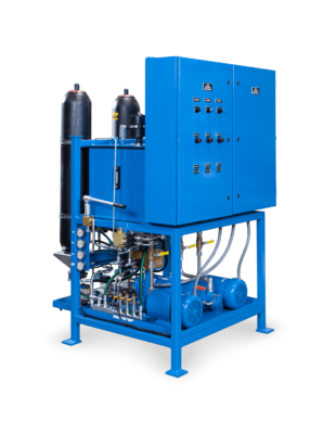 Custom Hydaulic Power Unit With Accumulators